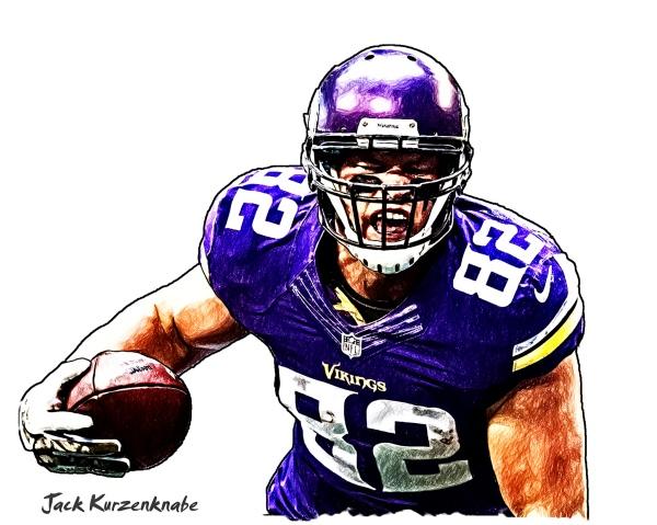 Minnesota Vikings Kyle Rudolph
